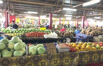 フィジーの青果市場