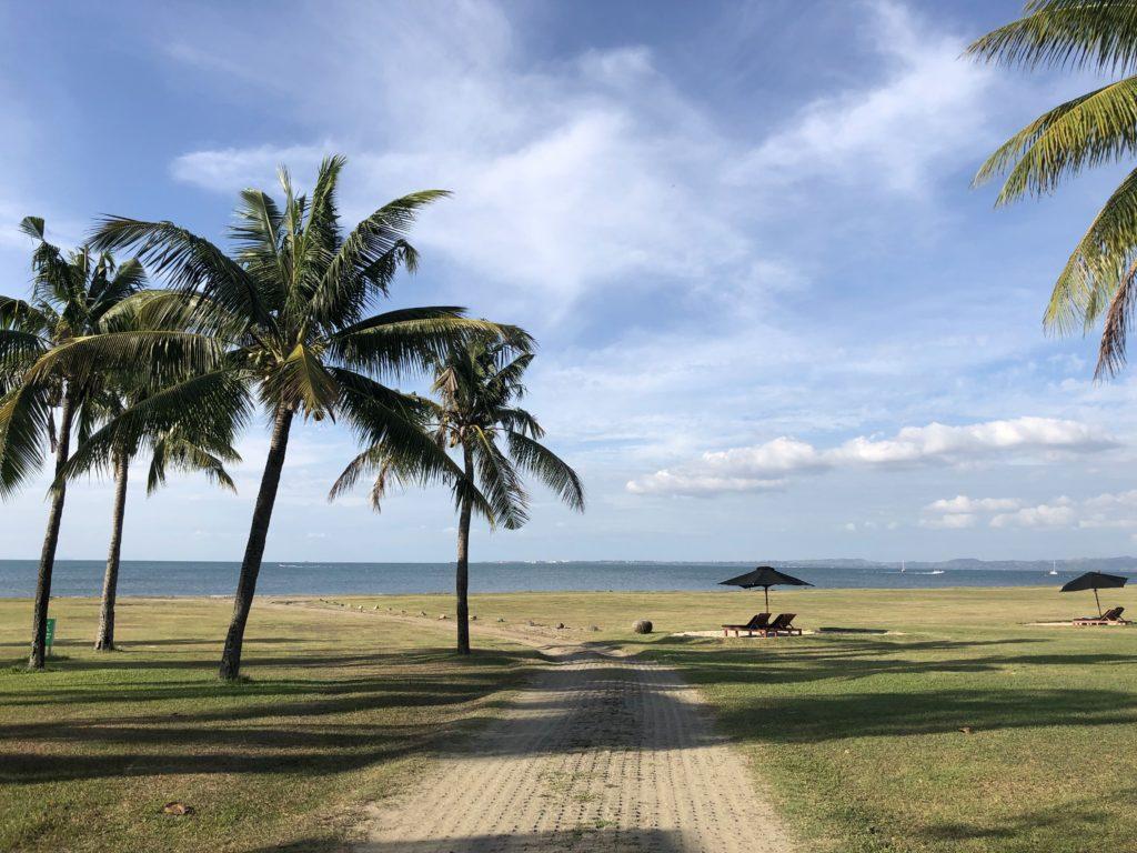 ヒルトン・フィジー・ビーチリゾート&スパのプライベートビーチ